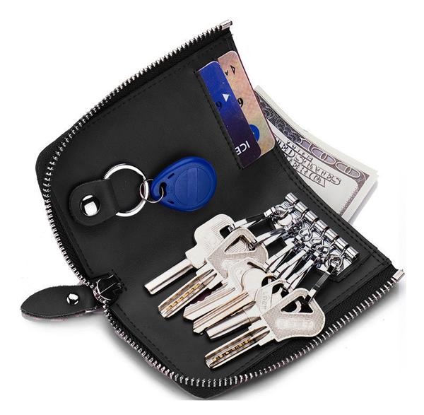 The Poket Key Case ポケットキーケース ブラック
